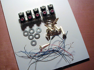 Cardboard Sequencer Parts