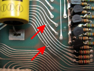 Solder Bridges On PCB